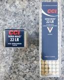 CCI #30 Mini Mag. .22lr 40gr RN-CP