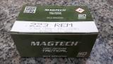 Magtech 223A .223Rem 55gr FMJ