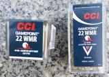 CCI #22 Gamepoint .22WinMag 40gr JSP