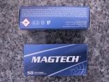 Magtech 357E .357Mag 158gr SJSP-Flat
