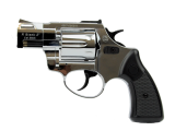 Zoraki Revolver R2 2'' verchromt inkl. zusätzliche Griffschalen in Holzoptik